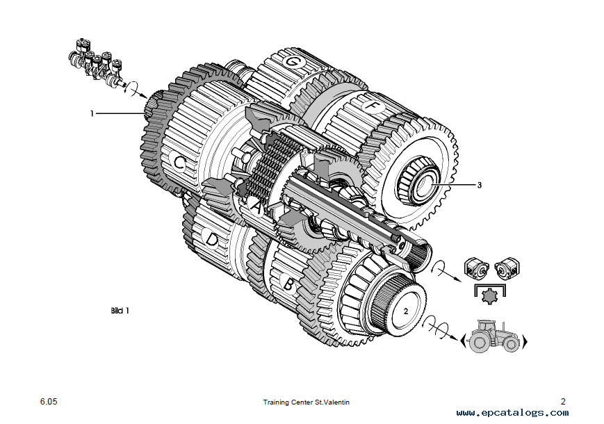 Case Cs100/Cs110/Cs120/Cs130/Cs150 Tractors Repair Manual PDF