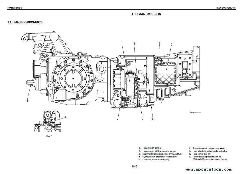 Deutz Agrotron TTV 1130 > 2000 & 1145 > 2000 & 1160 > 2000 PDF