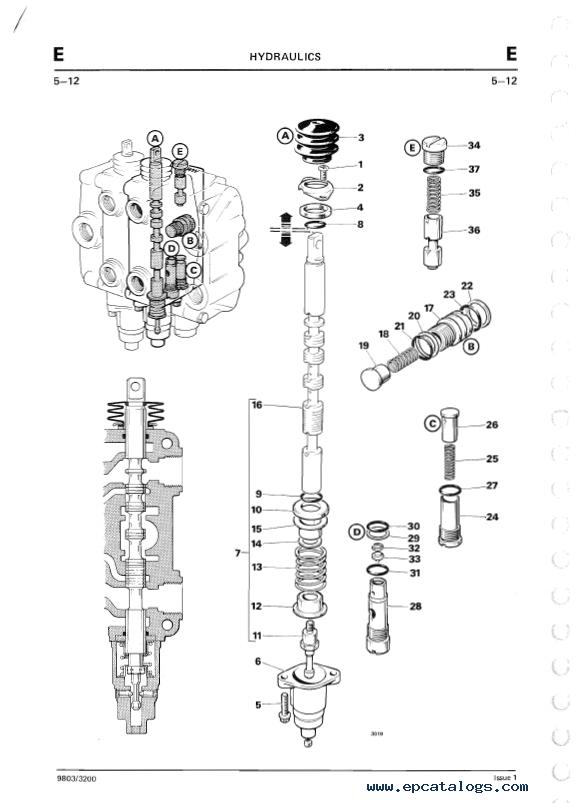 Download JCB 2D 2DS 3 3C 3CS 3D 700 Excavator Loader PDF