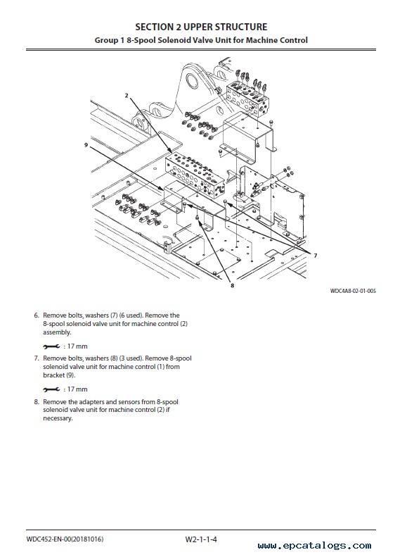 Hitachi Hydraulic Excavator ZX210(LC)X-6 Workshop PDF