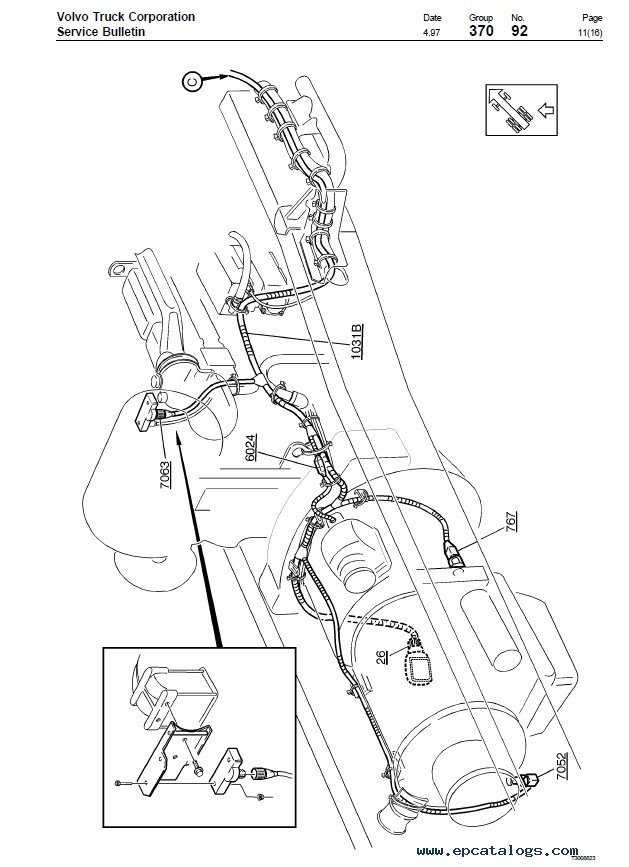 Volvo Trucks FL7, FL10, FL12 Wiring Diagram Manual PDF