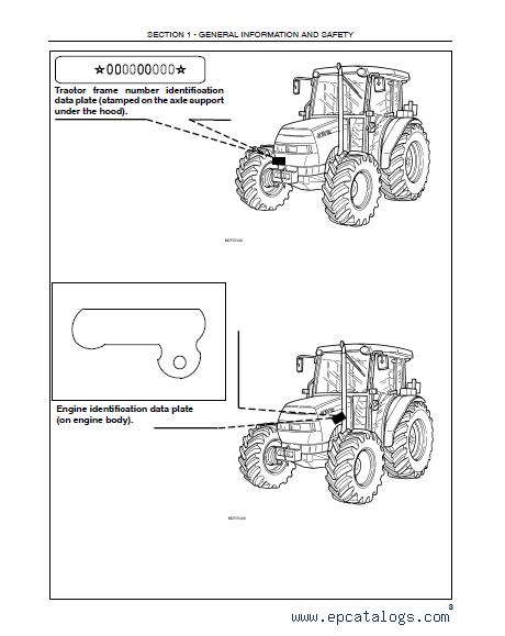 Case JX1060/1070/1075/1085/1095C Tractors PDF Manuals