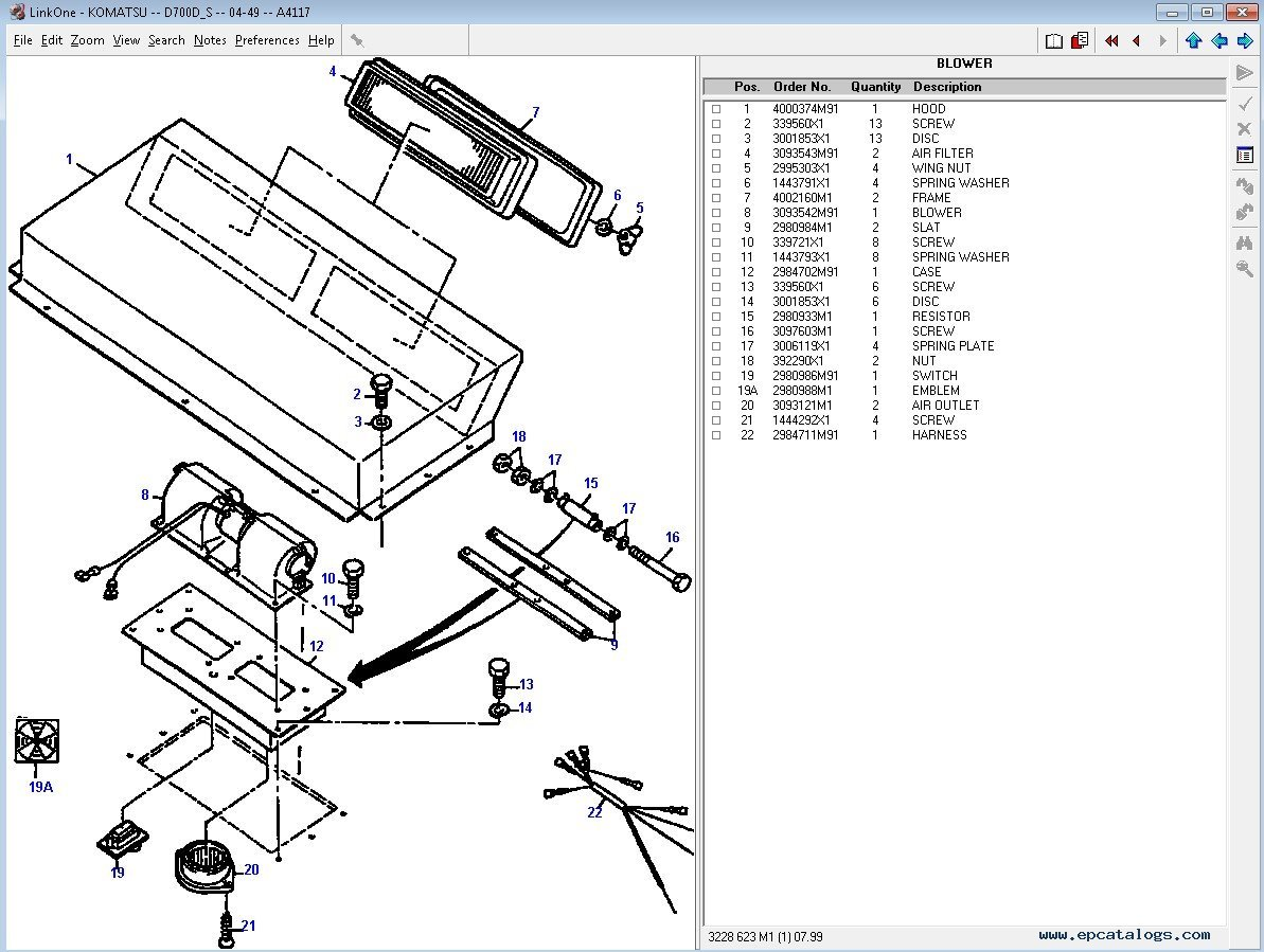 Catalog Parts Yanmar 3d82ae 5m. Catalog. Tractor Engine