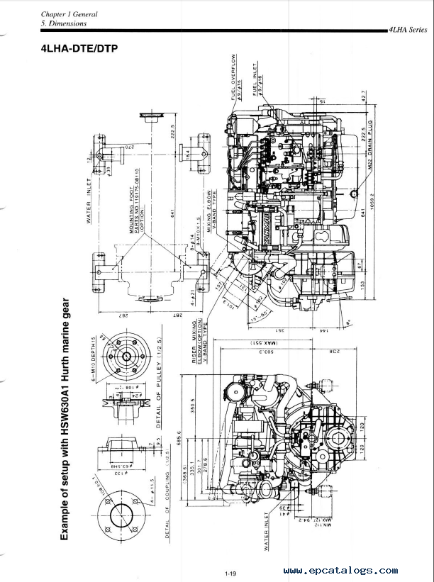Yanmar Marine Diesel Engine 4lha Series Service Manual Pdf