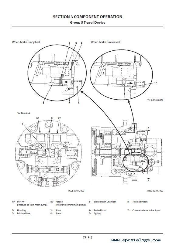 Download Hitachi Excavator ZX33U-5A Technical Manual PDF