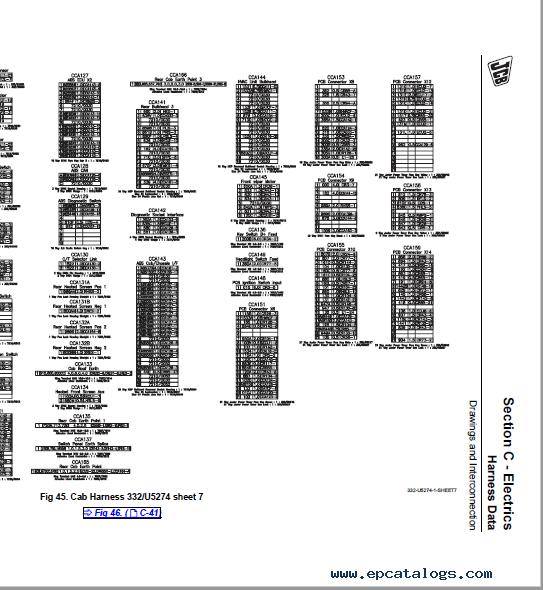 Download JCB Tractor 8250 Fastrac Service Manuals PDF
