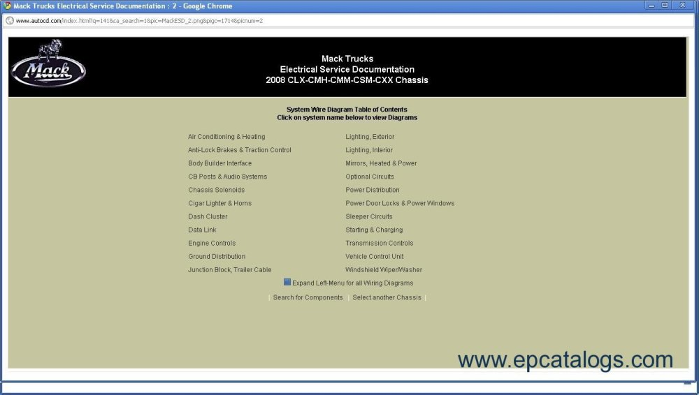 medium resolution of repair manual mack trucks electrical service documentation 2