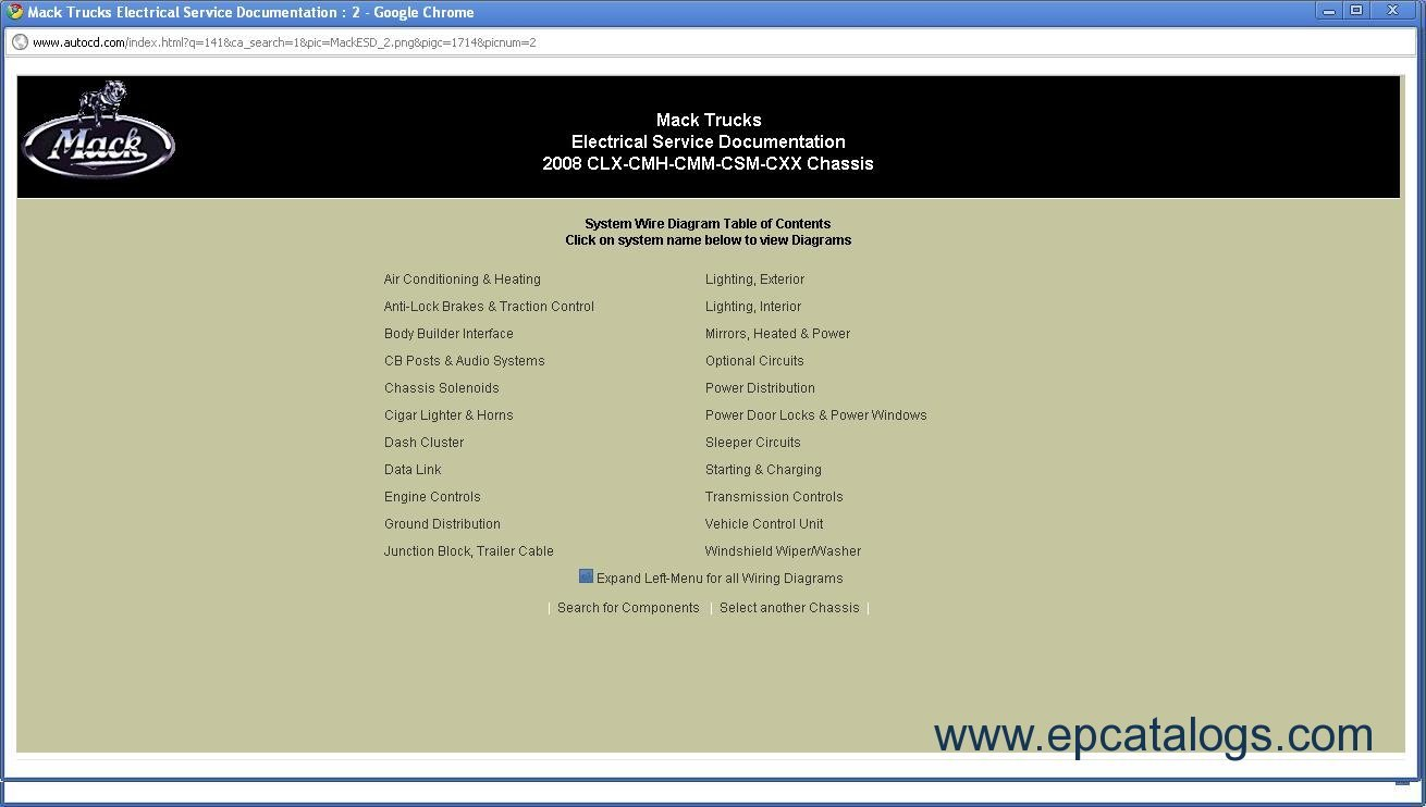 hight resolution of repair manual mack trucks electrical service documentation 2