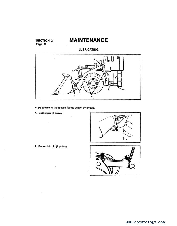 Komatsu Wheel Loader WA420-1LC Manual PDF Download