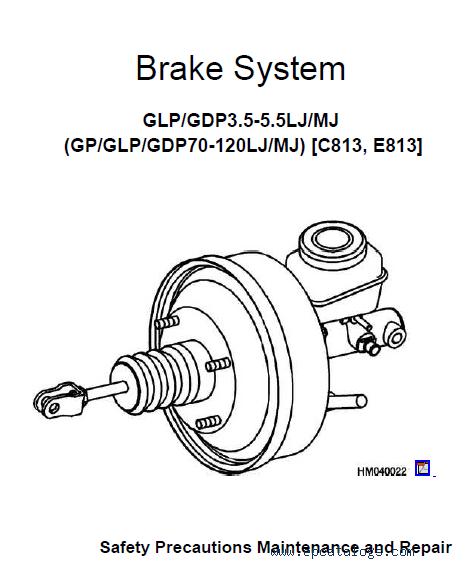 YALE C813 GDP070-090-100-120 Truck PDF Information