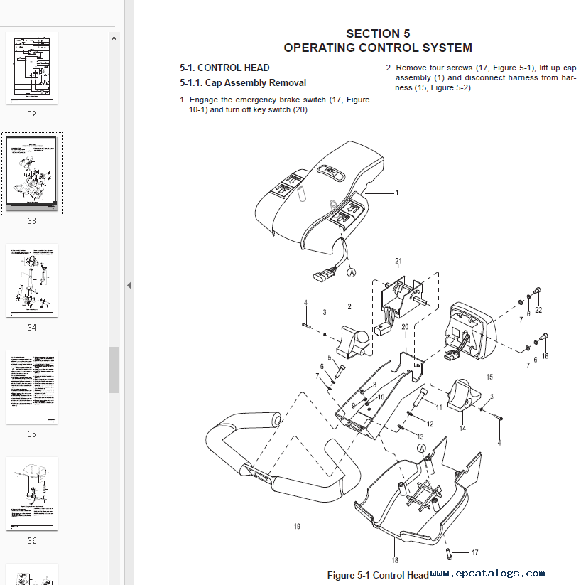 Clark Electric Pallet Truck WP15 PDF Service Manual Download