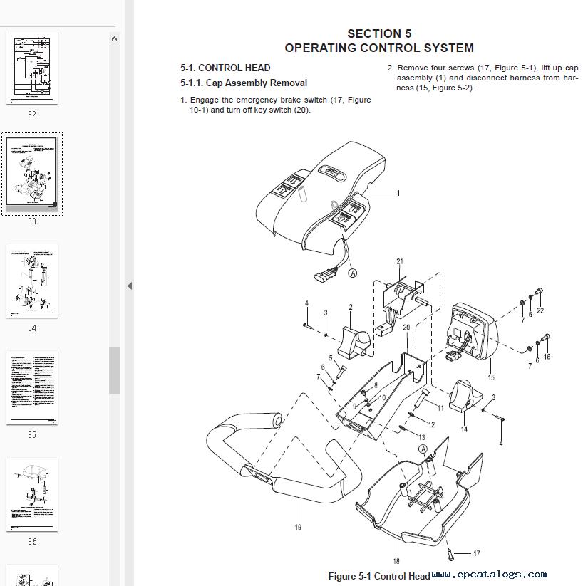 Clark Electric Pallet Truck WP15 PDF Service Manual Download