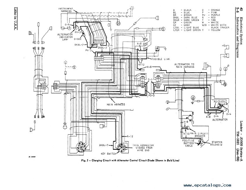 John Deere JD500 Series-A Loader TM1025 Technical Manual