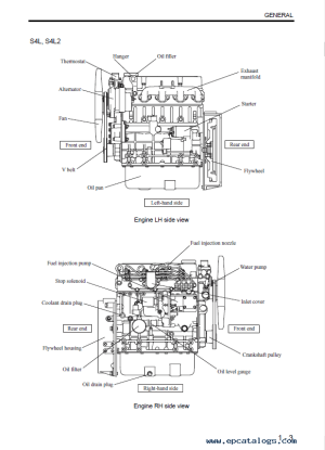 Download Mitsubishi EngineS S3L(2) S4L(2) Service Manual