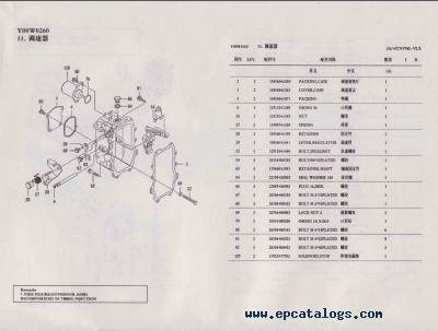 Bestseller: Yanmar Diesel Engine Parts Manual