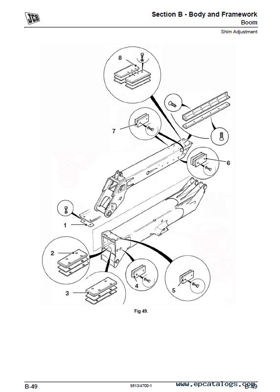 Download JCB Teletruk TM320 Service Manual PDF