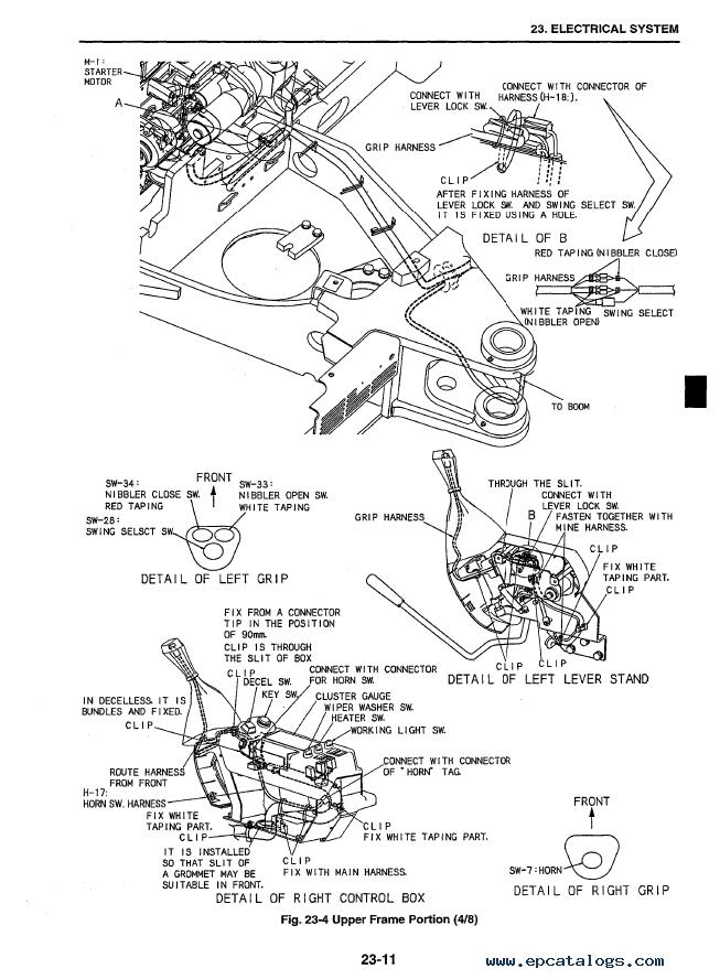 Kobelco SK50SR-3 Hydraulic Excavator PDF Service Manual
