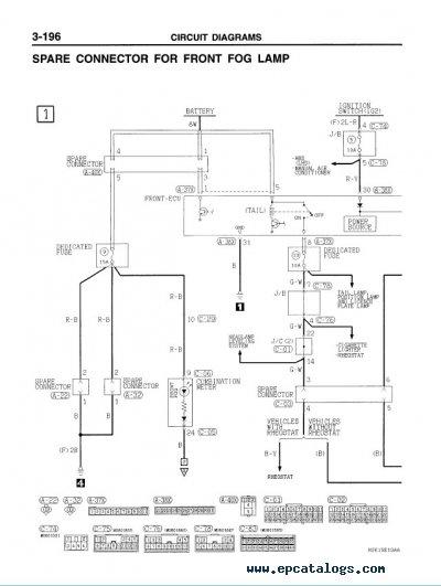 mitsubishi pajero wiring diagrams pdf 2001 silverado engine