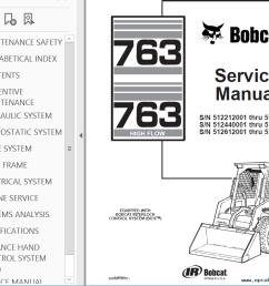 repair manual bobcat 763 763 high flow loaders service manual pdf 2 [ 1020 x 799 Pixel ]