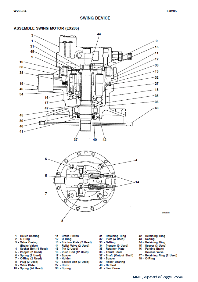 Fiat Kobelco EX255-EX285 Tier2 Excavator PDF Manual