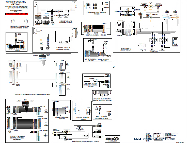 T300 Bobcat Wiring Schematic : 28 Wiring Diagram Images