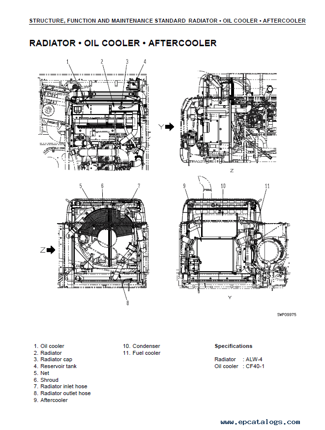 Komatsu Excavator PC450-7K and PC450LC-7K Workshop Manual PDF