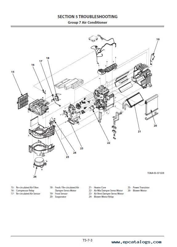 Hitachi Excavator ZX210(LC)-5B ZX210LCN-5B ZX240N-5B