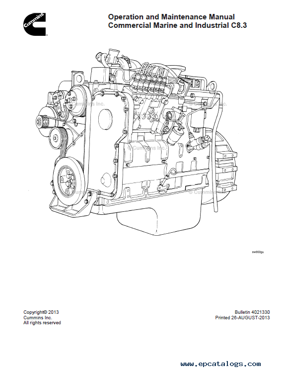Download Cummins Engine C8.3 Operation Maintenance PDF