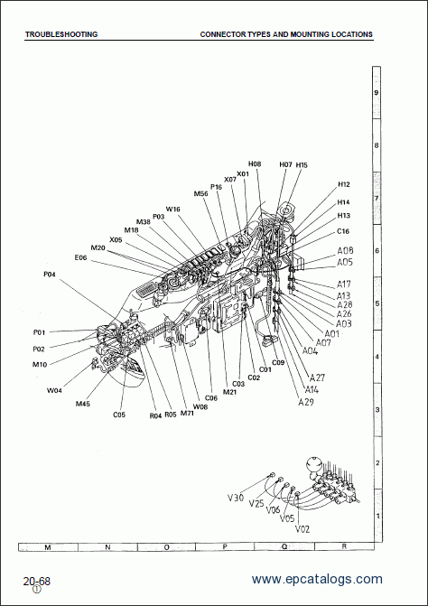 Komatsu Hydraulic Excavator PC150-6K, PC150LC-6K, repair