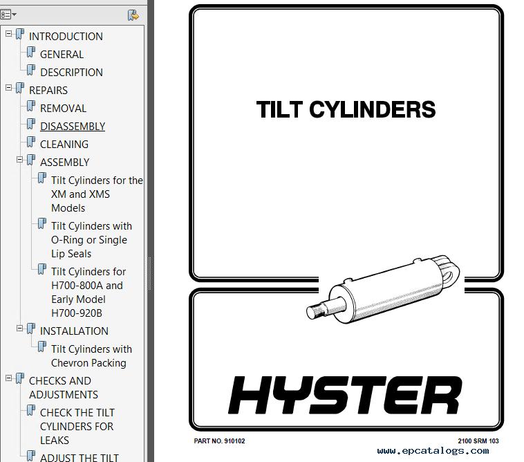 Hyster Class 1 B114 E20-30BS Europe Motor Rider Trucks PDF