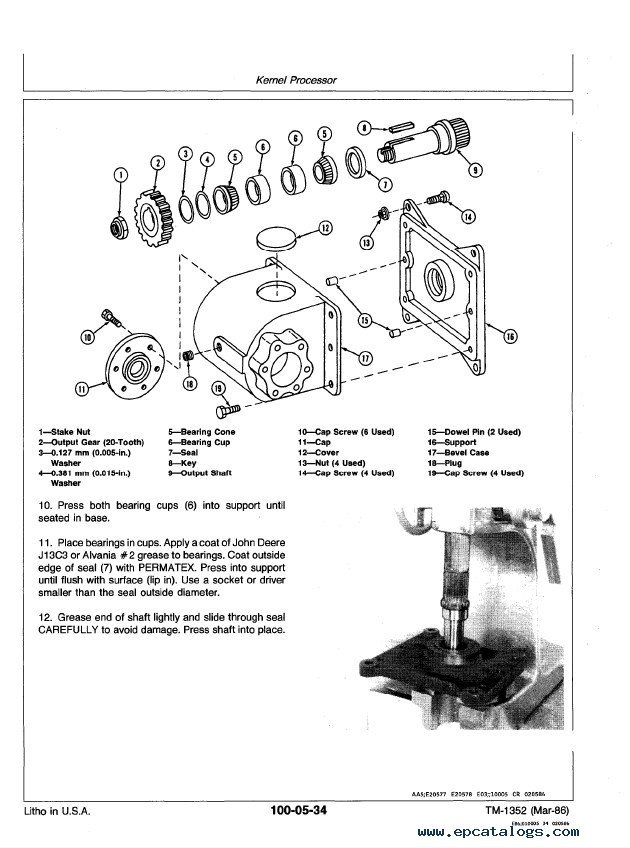John Deere 5730 & 5830 Propelled Forage Harvesters PDF