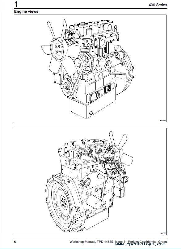 Amp Wiring Diagram Perkins 400 Series Diesel Engines Workshop Manual Pdf