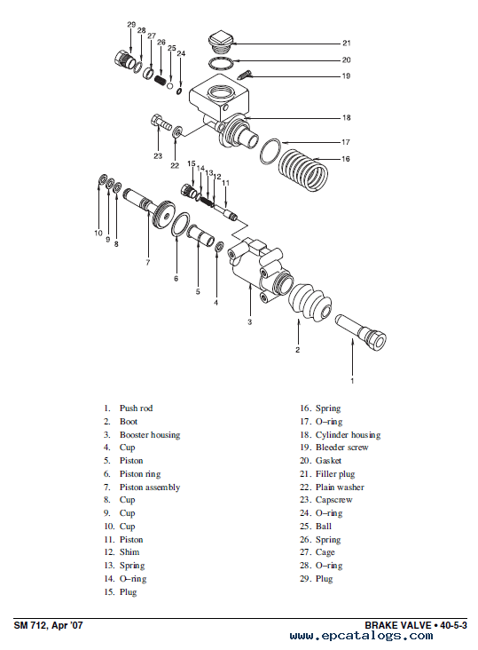 Clark Forklift CMP 40/45/50s D/L Service Manual PDF Download