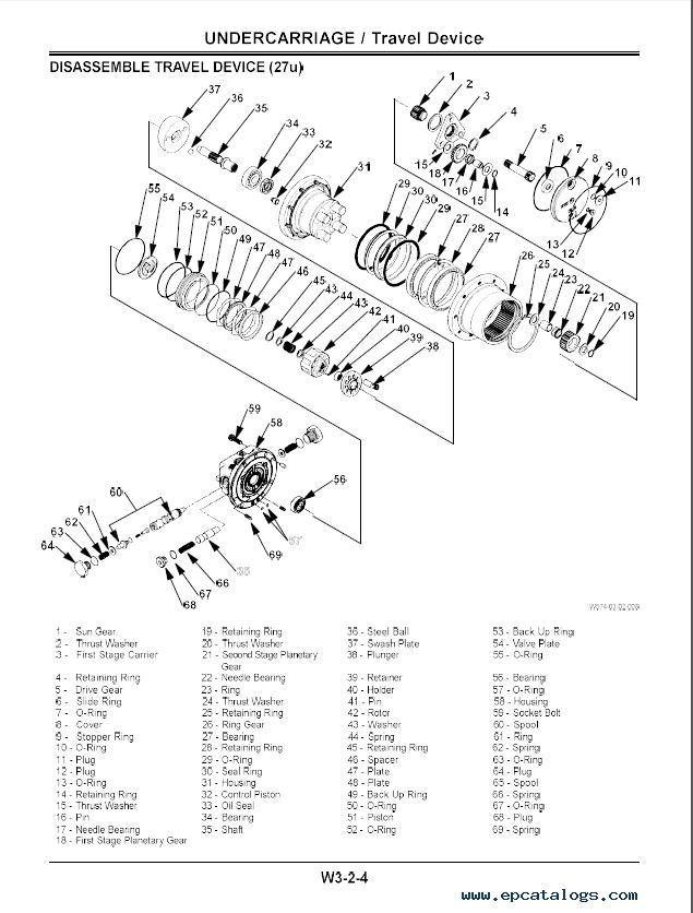 Hitachi EX27u/35u Excavator (North America) PDF Manual