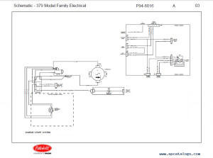 Peterbilt Truck 379 Model Family Schematic Manual PDF Download