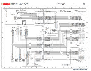 Kenworth T2000 Electrical Wiring Diagram Manual PDF