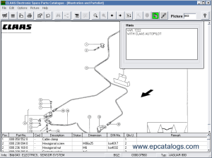 Claas Agricultural Spare Parts Catalog 2006