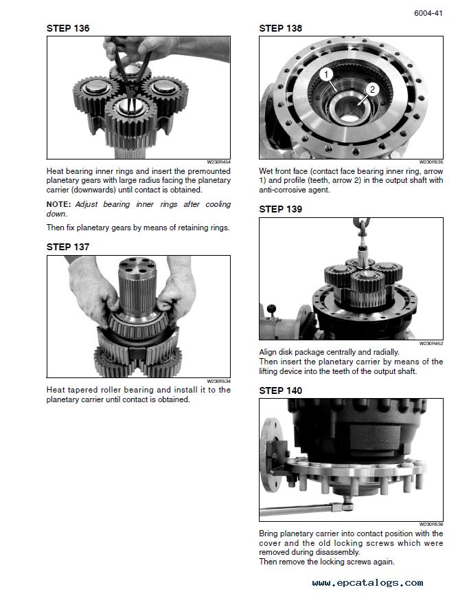 New Holland Wheel Loader W230C Tier 4 PDF Set of Manuals