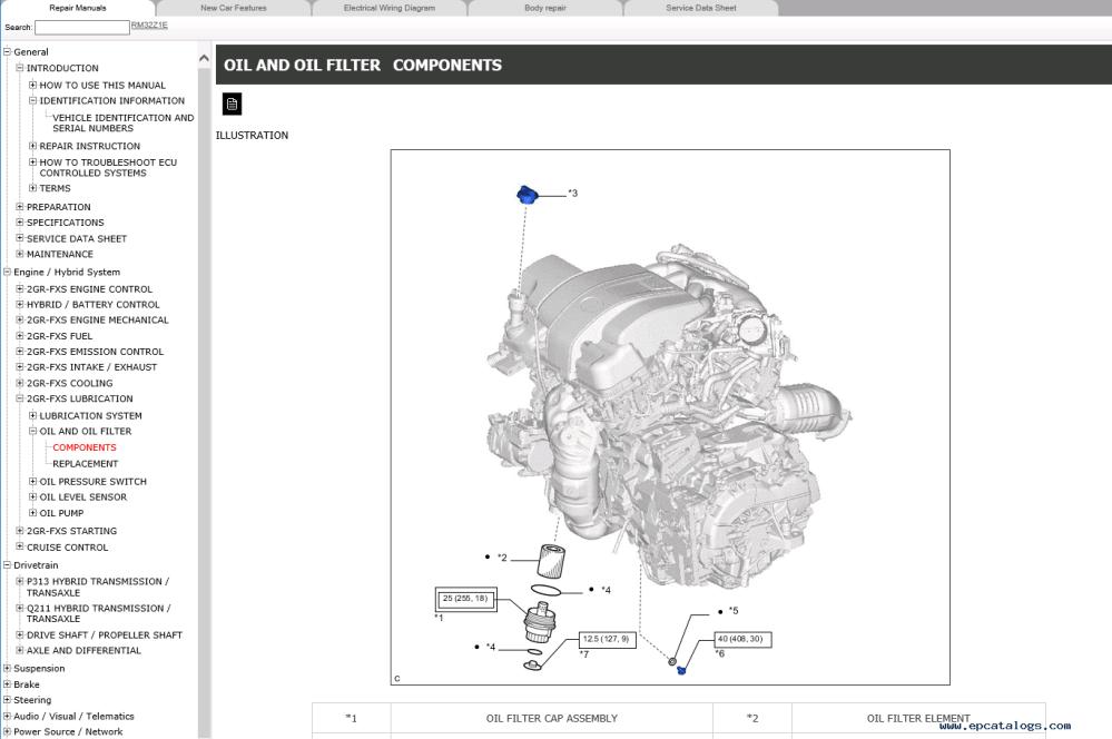 medium resolution of repair manual lexus rx450h gyl25 series repair manual 2015 2