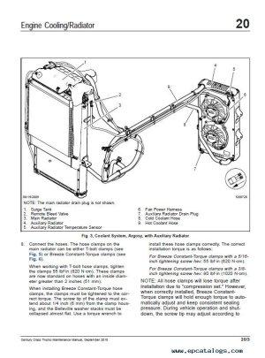 Freightliner Century Class Trucks Maintenance Manual PDF