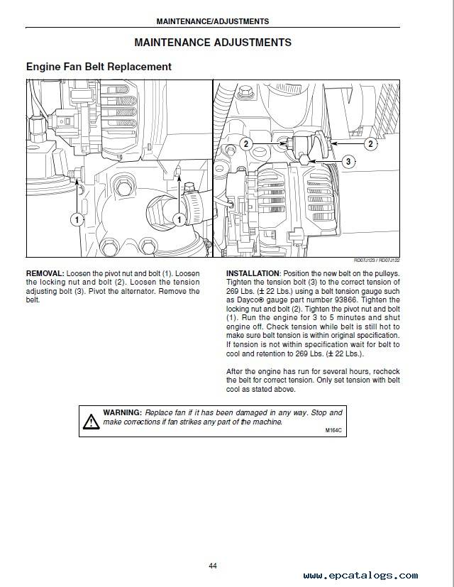 Case P70, P85, and P110 Irrigation Power Unit Manual