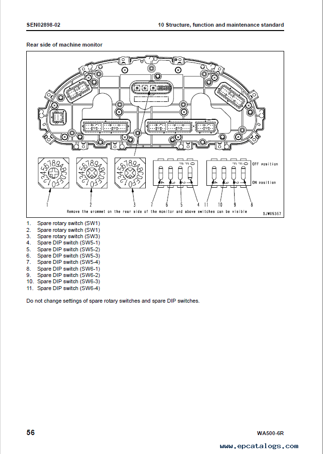 Komatsu Wheel Loader WA500-6R Shop Manual Download
