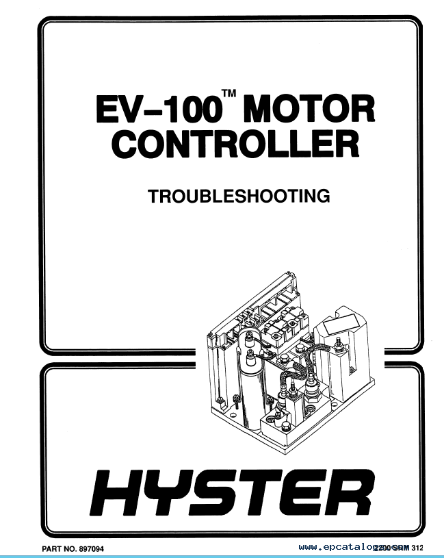 Hyster Class 1 B168 J40-60XL Electric Motor Rider Trucks PDF