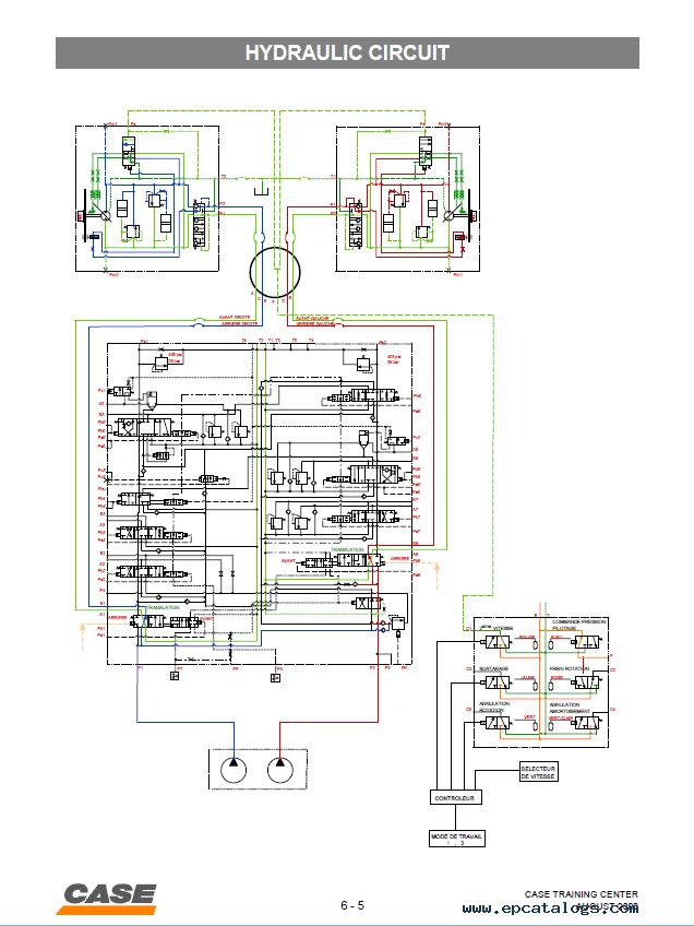 Service Manual Wiring Diagram Case Cx210 Hydraulic Excavator Pdf Manual