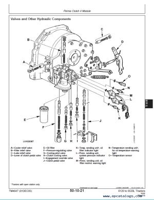 John Deere 61206420 6120L6520L Tractor Repair TM4647