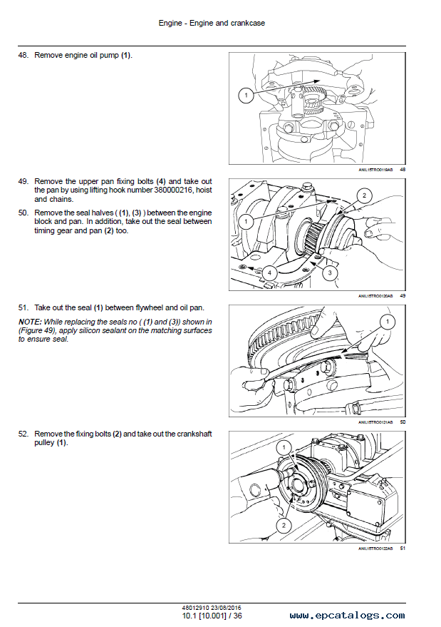 New Holland TD3.50 Tractor Download PDF Service Manuals