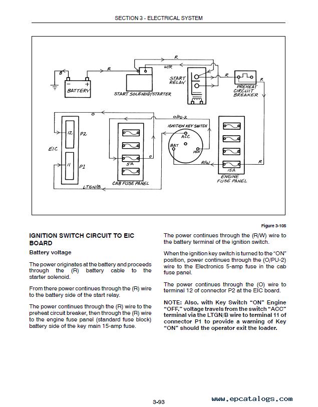 new holland l565 lx565 lx665 skid steer loader service manual pdf