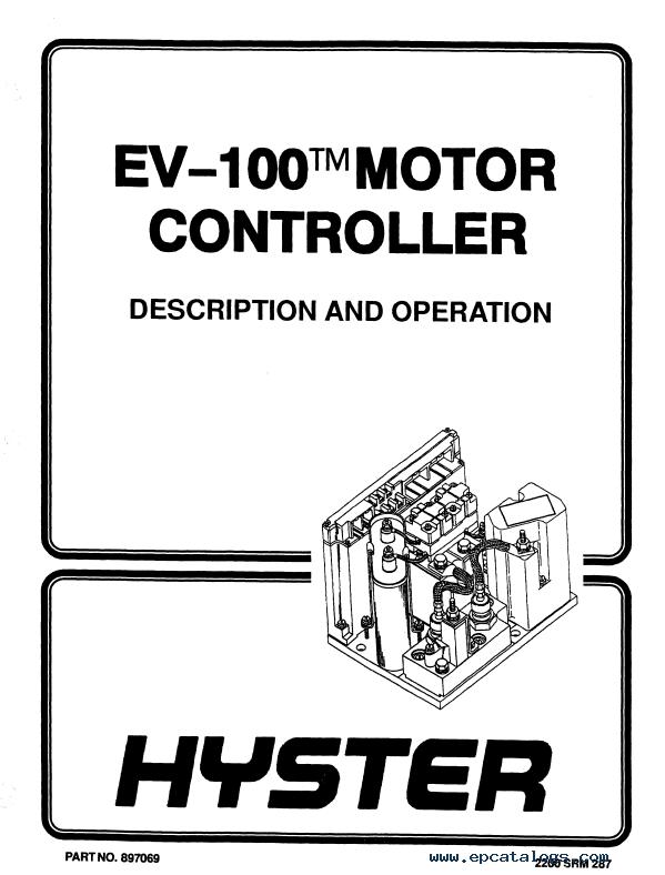Hyster Class 2 C176 R40EH Motor Narrow Aisle Trucks PDF