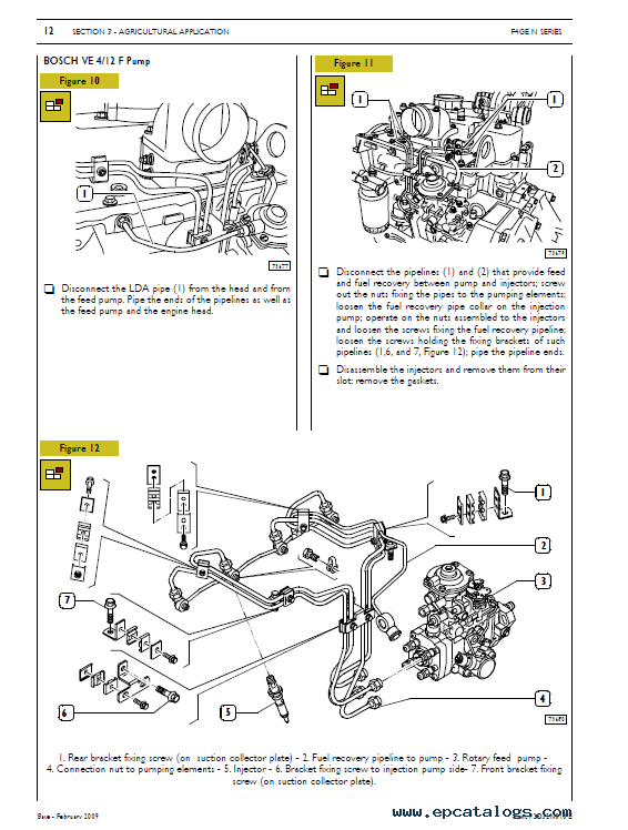 Download Iveco N Series F4G Tier 3 Technical Repair Manual