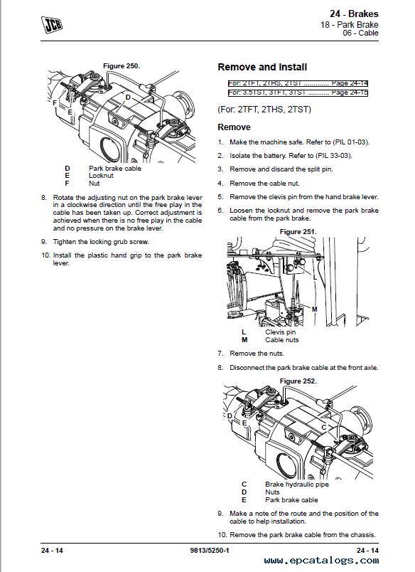 Download JCB Dumpsters 2TFT 2THS 2TST 3.5TST 3TFT 3TST PDF